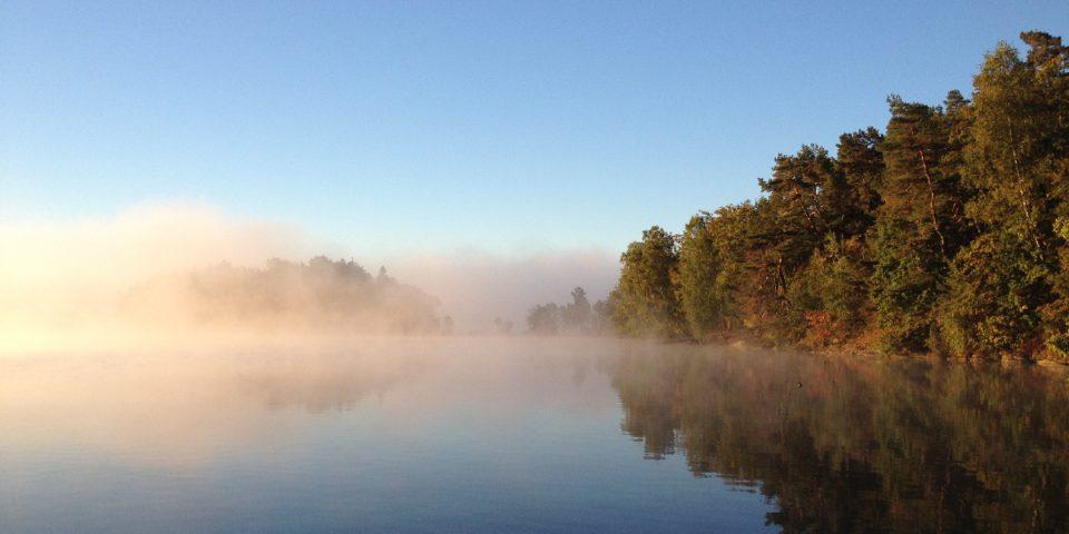 Otroligt fint i Stora Delsjön